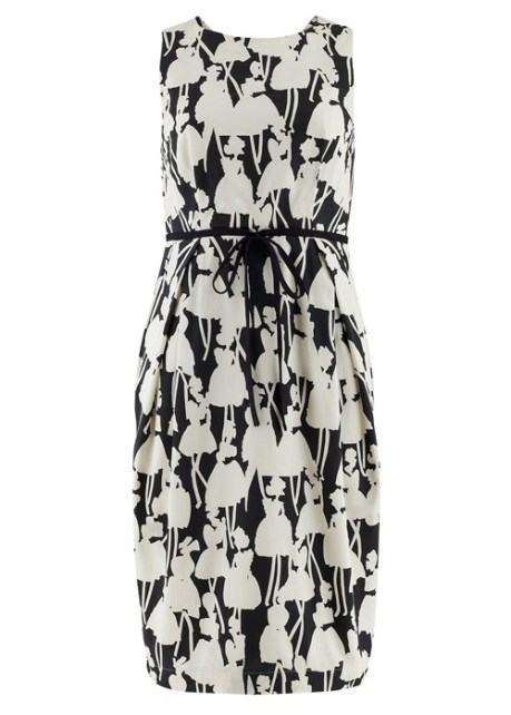 Orly Kiely Monochrome Open Back Dress £119